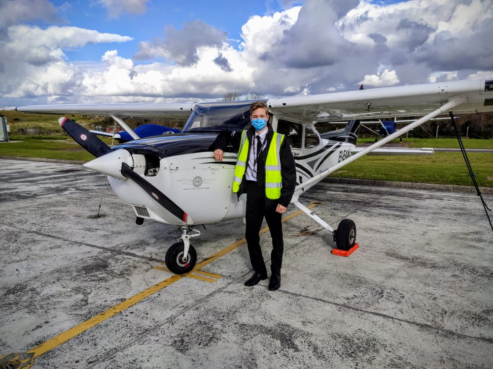 Learning to be a Finnish pilot in Irish skies